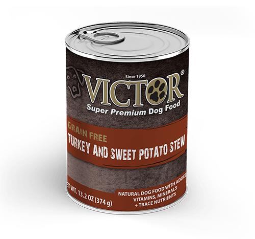 Victor Turkey and Sweet Potato Canned Grain Free Stew for Dogs 13 oz