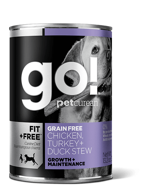 Go! Fit + Free Grain Free Chicken, Turkey, Duck Stew 13.2 oz