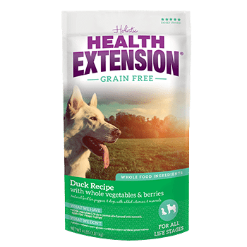 Holistic Health Extension Grain Free Duck Dog Food 4 lb