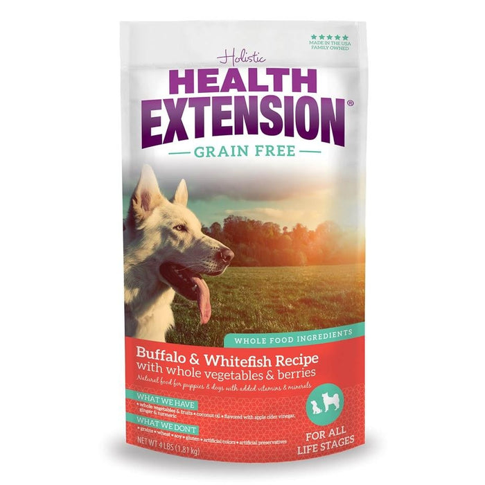 Holistic Health Extension Grain Free Allergix Buffalo and Whitefish
