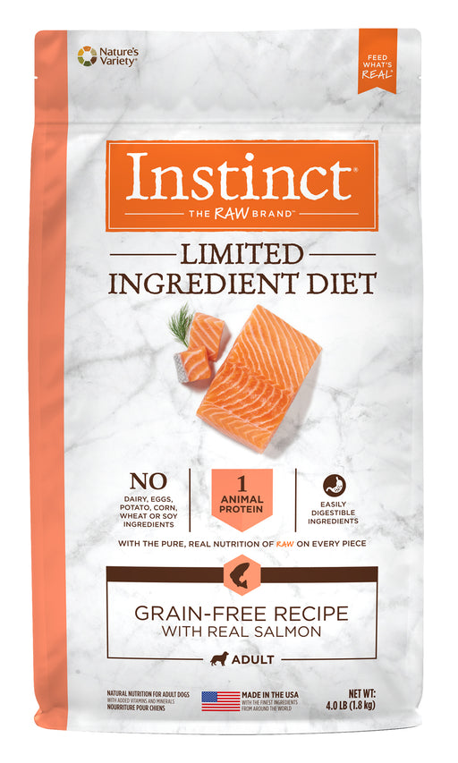 Nature's Variety Instinct LID Lamb Dog Food 4 lb