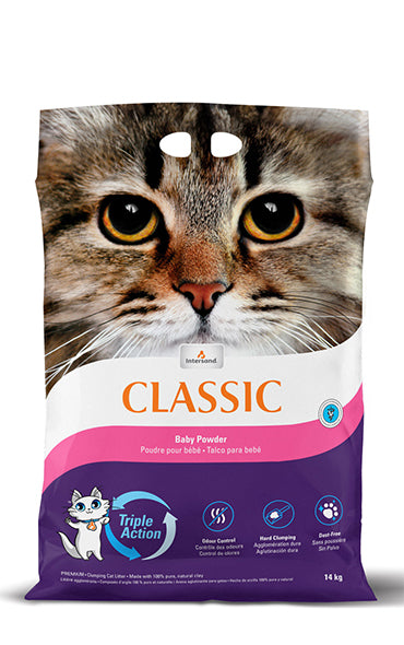 Intersand Classic Baby Powder Cat Litter
