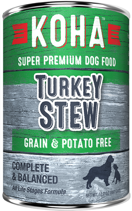 Koha Grain Free Turkey Stew 12.7oz
