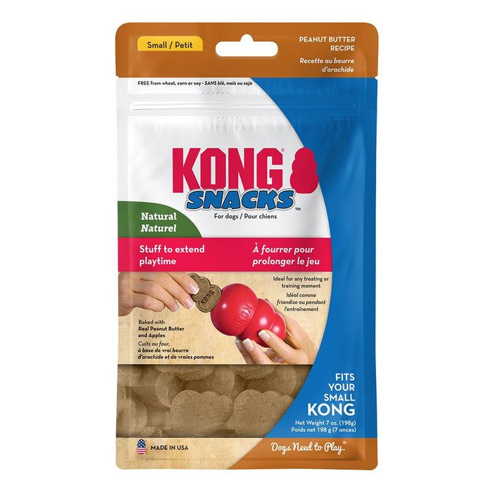 KONG Stuff'N Snacks, Peanut Butter, Small
