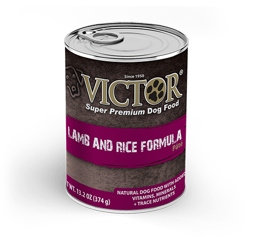 Victor Lamb and Rice Formula Canned Pâté Dog Food 13 oz