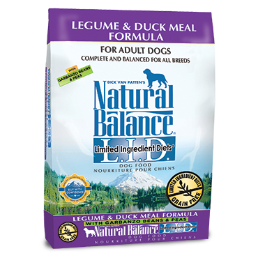 Natural Balance Limited Ingredients Diet Dog Food:Duck and Legume 24 lb