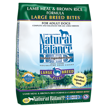 Natural Balance Limited Ingredient Lamb and Rice Large Breed 28lb