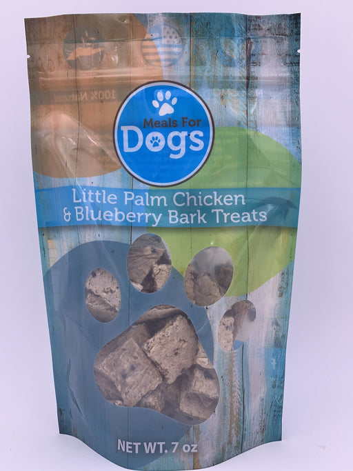 Meals for Dogs Little Palm Chicken & Blueberry Bark Treats 7 oz