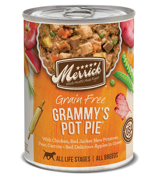 Merrick Grain Free Grammy's Pot Pie in Gravy 12.7oz