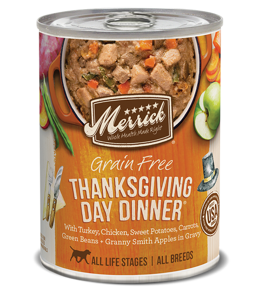 Merrick Grain Free Thanksgiving Day Dinner in Gravy 12.7oz