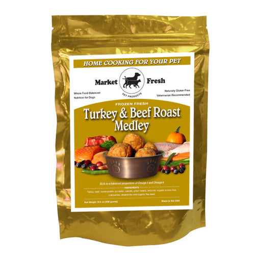Market Fresh Turkey and Beef Roast Medley 1 lb