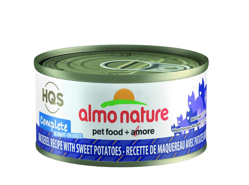 Almo Nature Complete Mackerel Recipe with Sweet Potato Wet Cat Food, 2.47 oz