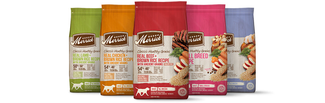 Merrick Classic Healthy Grains Real Lamb & Brown Rice Recipe with Ancient Grains Dry Dog Food