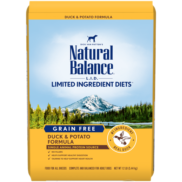 Natural Balance Limited Ingredients Diet Dog Food: Duck and Potato