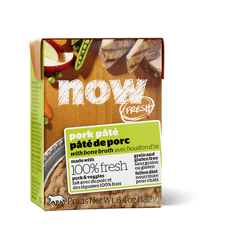 Now Fresh Grain Free Pork Pate Cat Food 6.4 oz