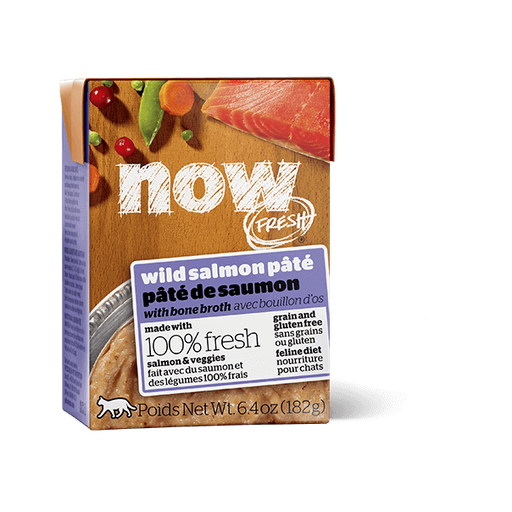 Now Fresh Grain Free Salmon Pate Cat Food 6.4 oz