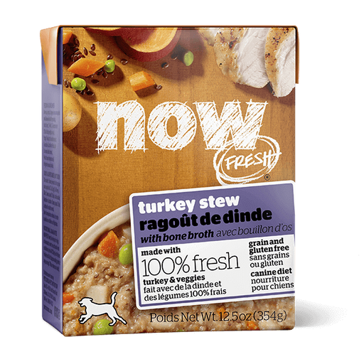 Now Fresh Grain Free Turkey Stew Dog Food 12.5 oz