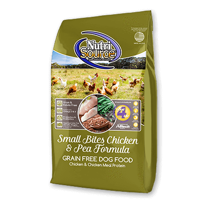 NutriSource Grain-Free Small Breed Chicken 5lb