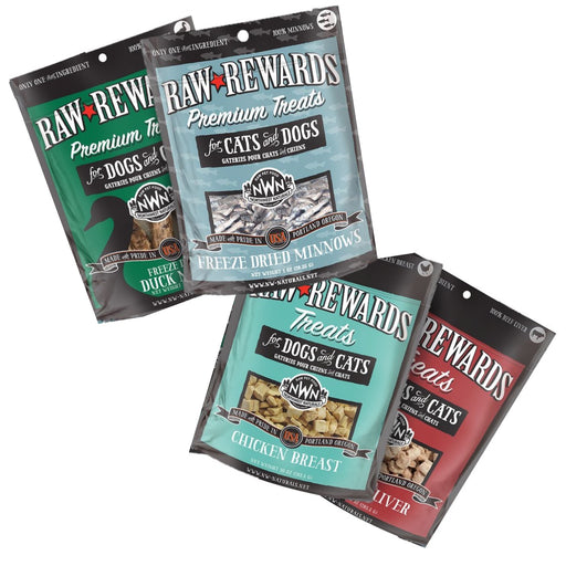 Northwest Naturals Raw Rewards Freeze Dried Treats for Dogs and Cats