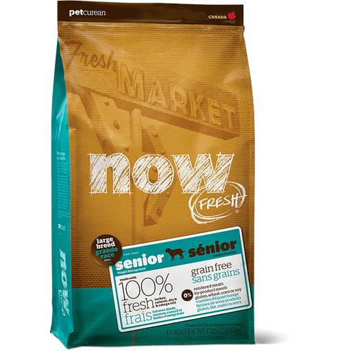 Now! Fresh Grain Free Large Breed Senior 25lb