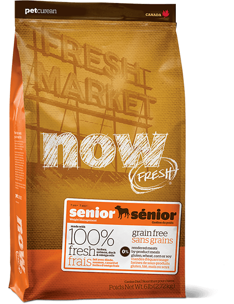 Now! Fresh Grain Free Senior Weight Management 6lb