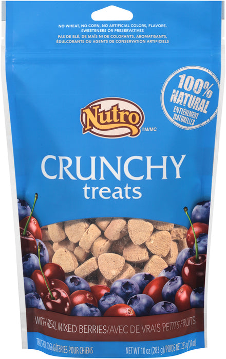 Nutro Natural Choice Crunchy Blueberry Treat 10 oz