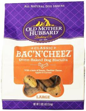 Old Mother Hubbard Extra Tasty Bac'N'Cheez Biscuits