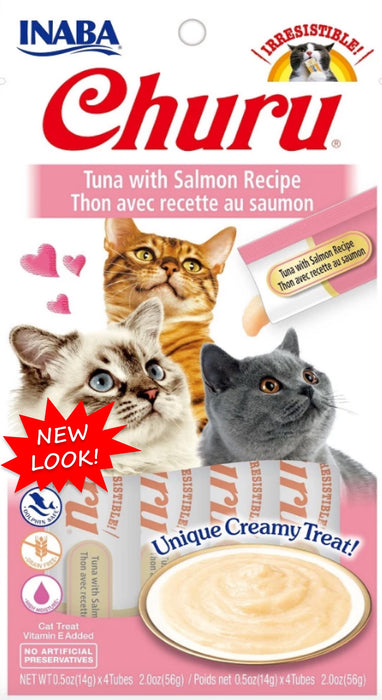 Churu Tuna with Salmon 4ct