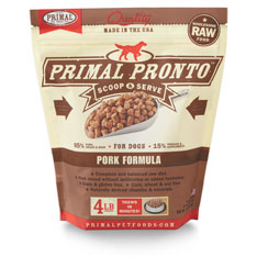 Primal Dog Frozen Pronto Pork 4 lbs