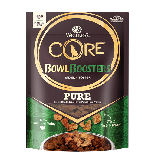 Wellness CORE Bowl Boosters Freeze-Dried Pure Turkey 4 oz
