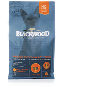 Blackwood Cat Indoor Chicken and Brown Rice 4 lb