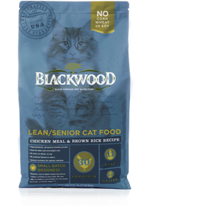 Blackwood Cat Adult Chicken and Brown Rice Lean 4 lb