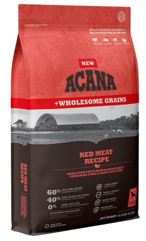 Acana Red Meat + Wholesome Grains Recipe For Dogs
