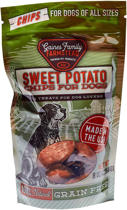 Gaines Family Farmstead 100% Natural Sweet Potato Chips, 8 oz