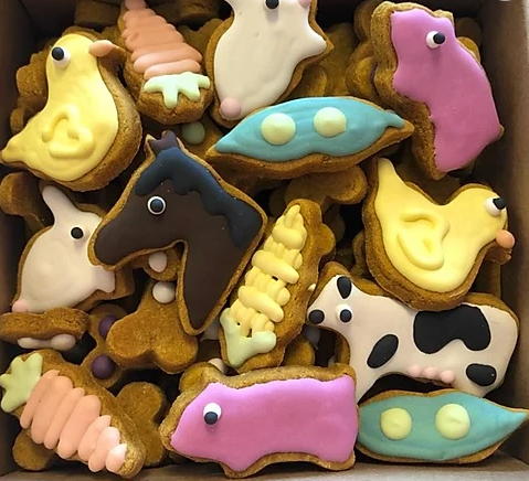 Farm Animal Mini Treats Box