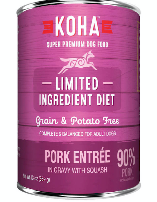 Koha Limited Ingredient Pork Entree 13oz