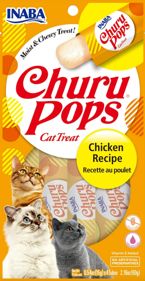Inaba Churu Pops Cat Treats