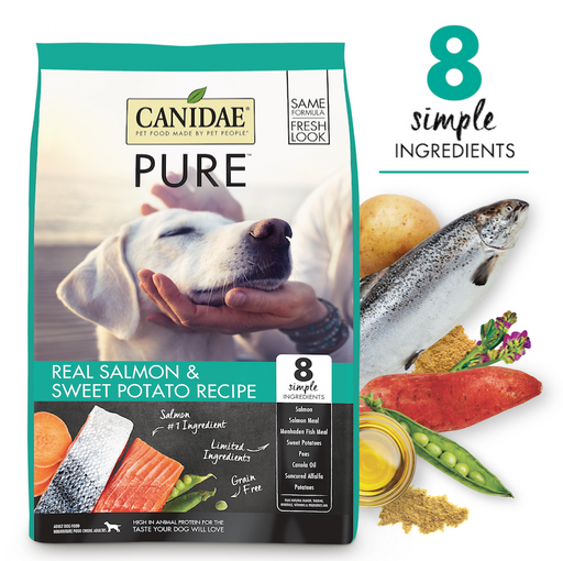 Canidae Pure Grain Free Real Salmon Dry Dog Food