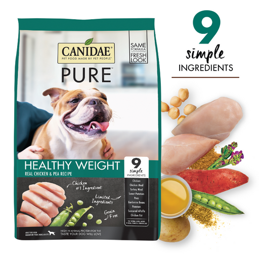 Canidae Pure Grain Free Healthy Weight Dry Dog Food