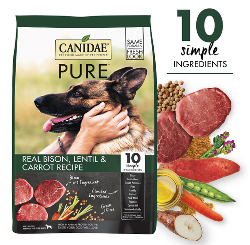 Canidae Pure Grain Free Real Bison Dry Dog Food