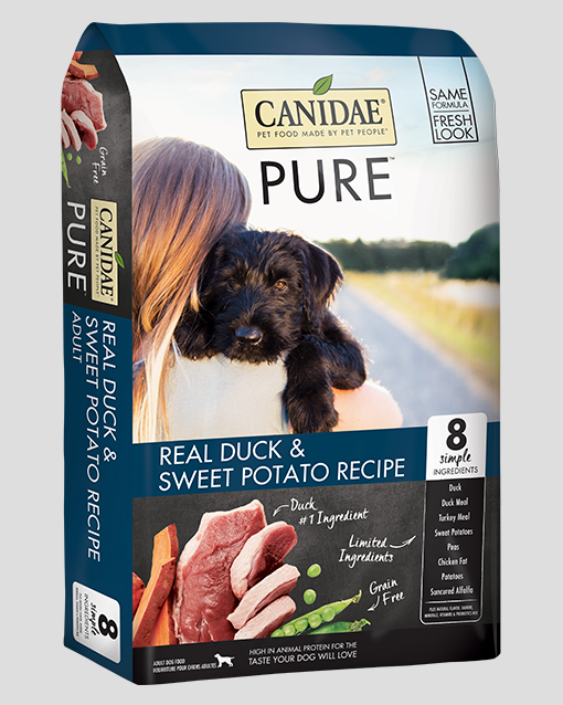 Canidae Pure Grain Free Real Duck Dry Dog Food