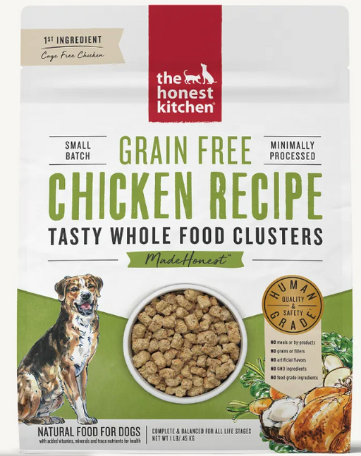 The Honest Kitchen Whole Food Clusters Grain Free Chicken