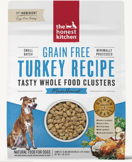 The Honest Kitchen Whole Food Clusters Grain Free Turkey
