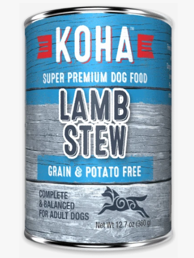 Koha Lamb Stew Grain Free Dog Food 12.7oz