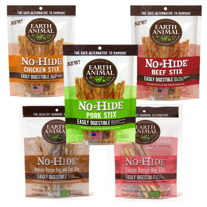 Earth Animal No Hide Stix - 10 Pack