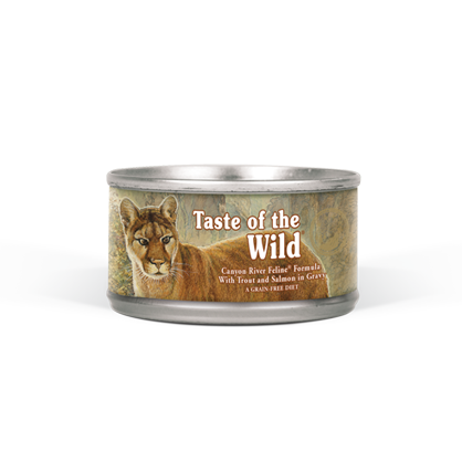 Taste of The Wild Canyon River Cat Food 3 oz