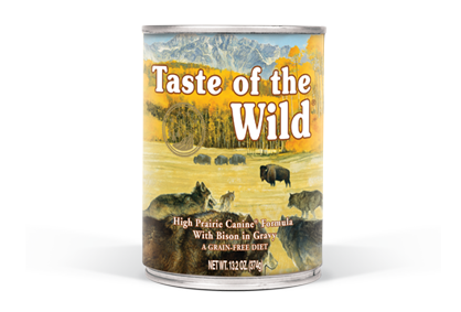 Taste Of The Wild High Prairie Can 13.2 oz