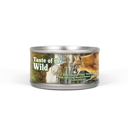 Taste of The Wild Rocky Mountain Cat Food 3 oz