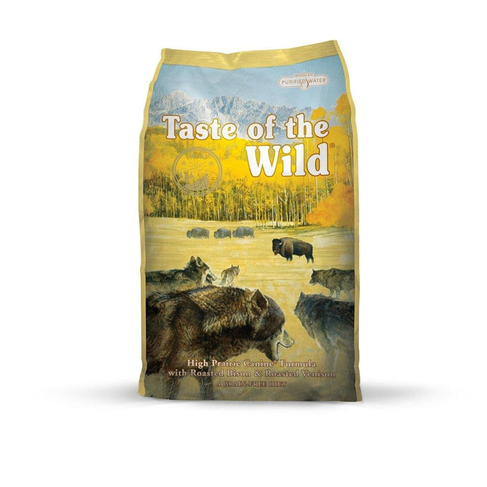 Taste of the Wild High Prairie Adult Dog Food 5 lbs
