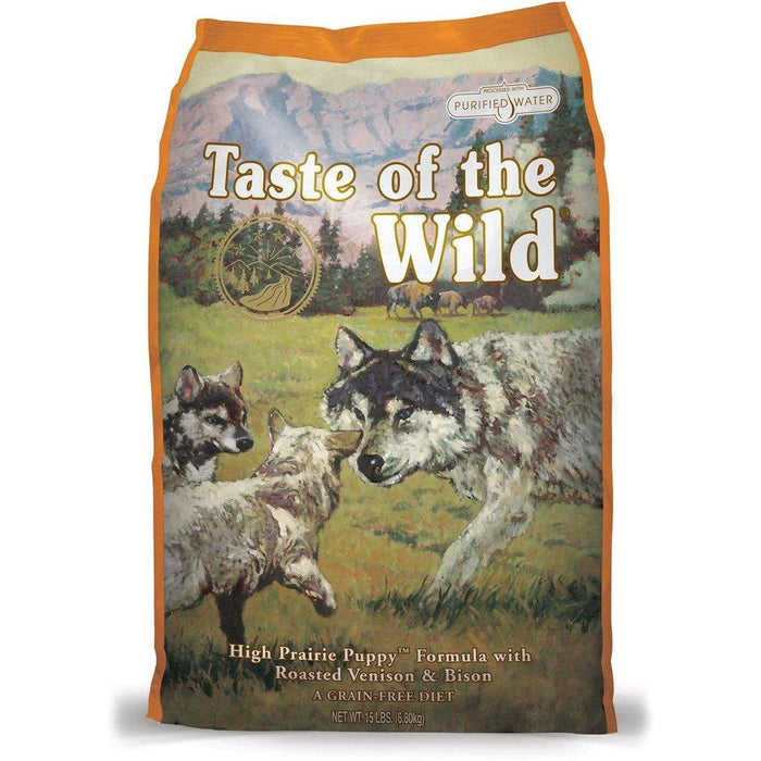 Taste of the Wild High Prairie Bison and Venison Food for Puppies 5 lbs